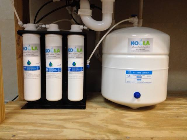 Under Counter Water Filtration Systems Koola Bottleless